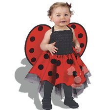 Ladybug Infant Baby costume idea