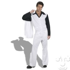 Saturday Night Fever Disco Adult Men's costume idea
