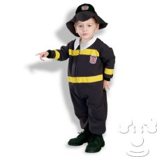 Infant Baby Firefighter costume idea