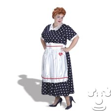 Lucy from I Love Lucy Plus Size costume idea
