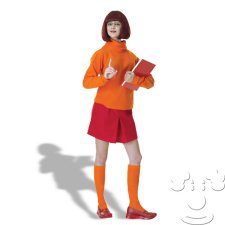 Velma from Scooby Doo Adult Women's costume idea