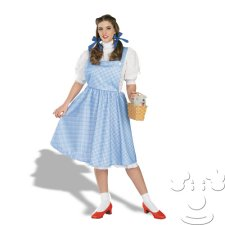 Dorothy from Wizard of Oz Plus Size costume idea