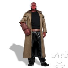 Plus Size Hellboy costume idea
