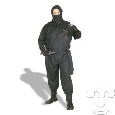 Plus Size Ninja costume idea