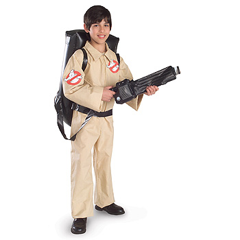 Ghostbuster Kids costume idea