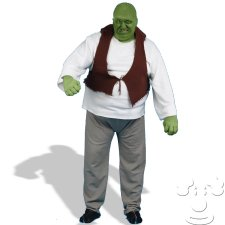 Ogre Shrek Plus Size costume idea
