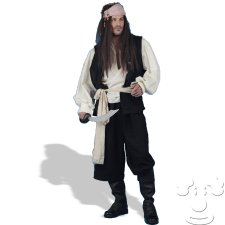 Pirates of the Caribbean Adult Men's costume idea