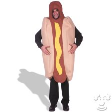 Hot Dog Adult Funny costume idea
