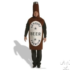 Plus Size Beer Bottle costume idea
