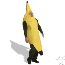 Plus Size Banana costume idea