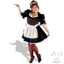 French Maid Plus Size costume idea
