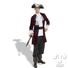 Pirate Captain Plus Size costume idea