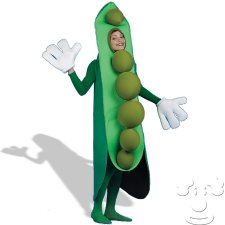 Peas in a Pod Adult Funny costume idea