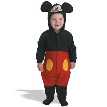 Infant Baby Mickey Mouse costume idea