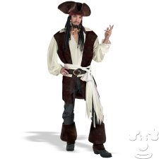 Captain Jack Sparrow Adult Men's costume idea