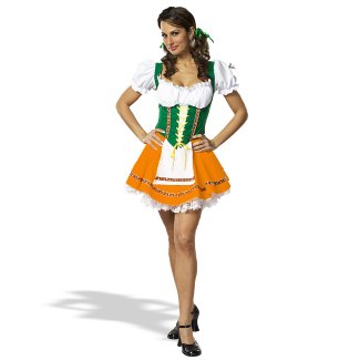 German Beer Garden Barmaid costume idea