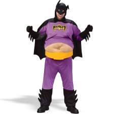 Fat Batman Adult costume idea