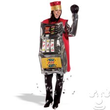 Slot Machine Adult Funny costume idea