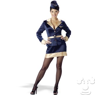Sexy Stewardess costume idea