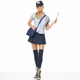 Sexy Mailwoman costume idea