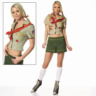 Sexy Girl Scout costume idea
