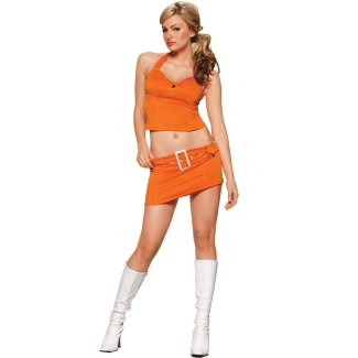 Sexy Fanta Girl costume idea