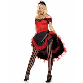 Sexy Burlesque Dancer costume idea