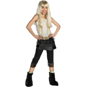 Hannah Montana Girls costume idea