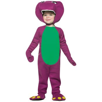 Infant Baby Purple Dinosaur Barney costume idea