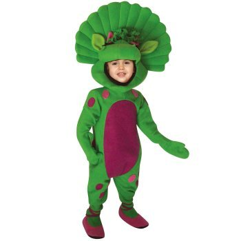 Infant Barney Baby Bop costume idea
