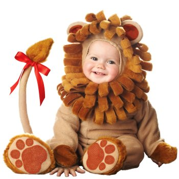 Lion Infant Baby costume idea