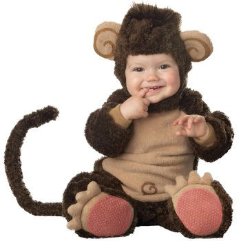 Monkey Infant Baby costume idea