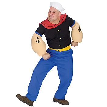 Popeye Adult Men's costume idea