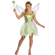 Tinker Bell Fairy Adult Women's costume idea