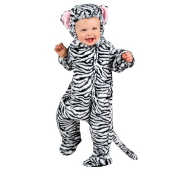 White Tiger Infant Baby costume idea