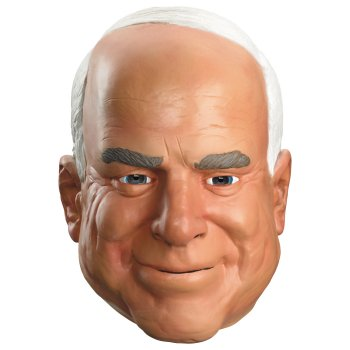 John McCain Mask costume idea
