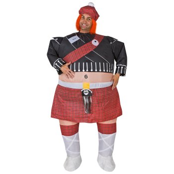 Inflatable Highlander Funny costume idea