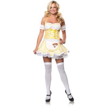 Sexy Goldilocks costume idea