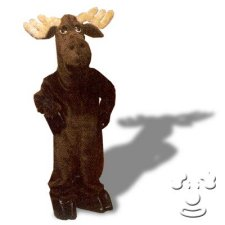 Bullwinkle Moose costume idea