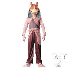 Jar Jar Binks from Star Wars Kids costume idea