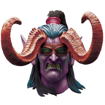 Illidan of World of Warcraft Mask costume idea