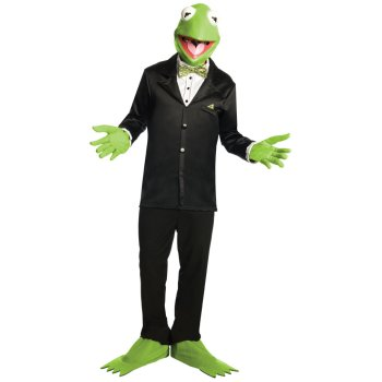Kermit from The Muppets Movie costume idea