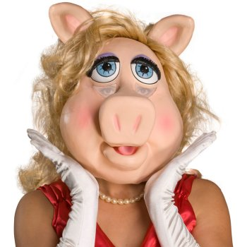 Ms. Piggy of The Muppets Mask costume idea