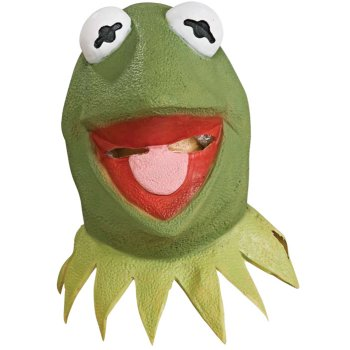 Kermit of The Muppets Mask costume idea