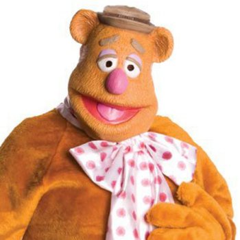 Fozzie Bear of The Muppets Mask costume idea