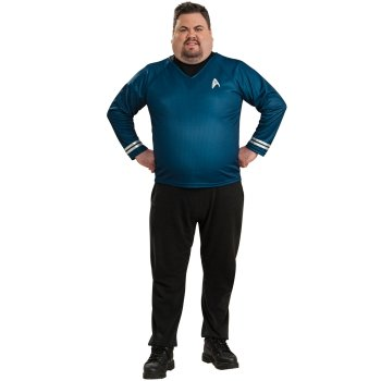 Star Trek Blue Plus Size costume idea
