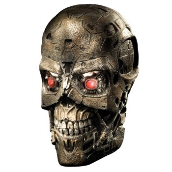 Terminator 4 T600 Mask costume idea