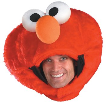 Elmo of Sesame Street Mask costume idea