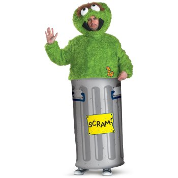 Oscar The Grouch Sesame Street TV costume idea