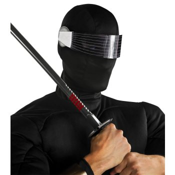 Snake Eyes from GI Joe Mask costume idea
